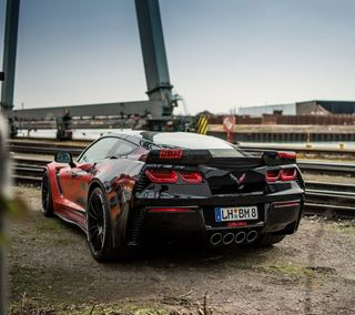 Обои на телефон супер, машины, корвет, corvette z06