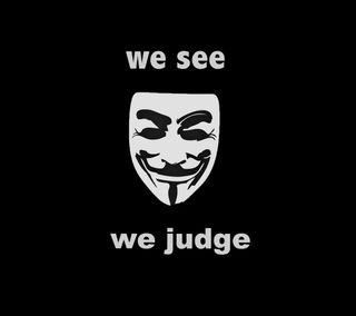 Обои на телефон судить, свобода, видеть, анонимус, маска