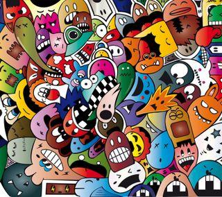 Обои на телефон телевидение, символы, мультфильмы, забавные, приятные, новый, взрыв, cartoon explosion