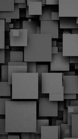 Обои на телефон квадраты, черные, цифровое, фон, арт, абстрактные, hd, art, 3д, 3d, 1080p