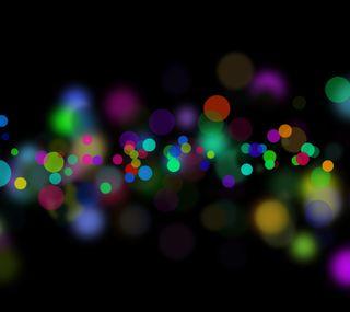 Обои на телефон тень, цветные, формы, круги
