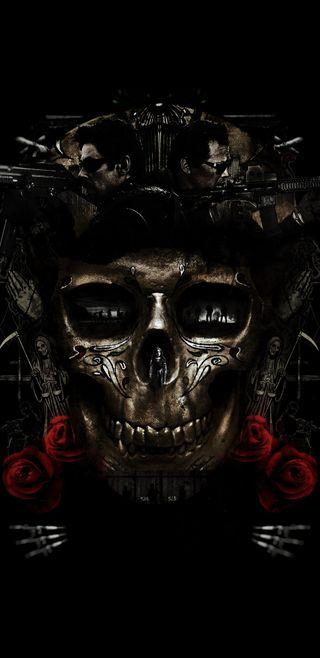 Обои на телефон каратель, череп, флаг, фильмы, пираты, оружие, мексиканские, логотипы, sicario 2, sicario