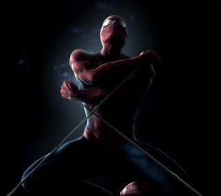 Обои на телефон паук, черные, человек паук, супергерои, spiderman hd 2