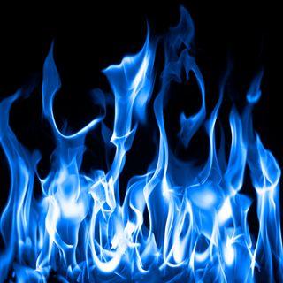 Обои на телефон огонь, синие, пламя, дым, heat, fire flame