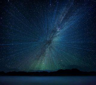 Обои на телефон стандартные, ночь, небо, космос, звезды, space stars, lg g5