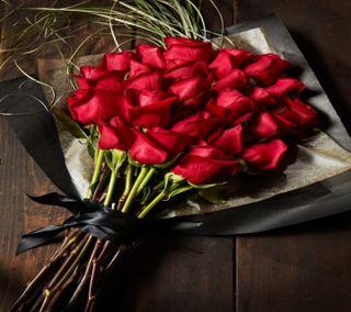 Обои на телефон валентинка, розы