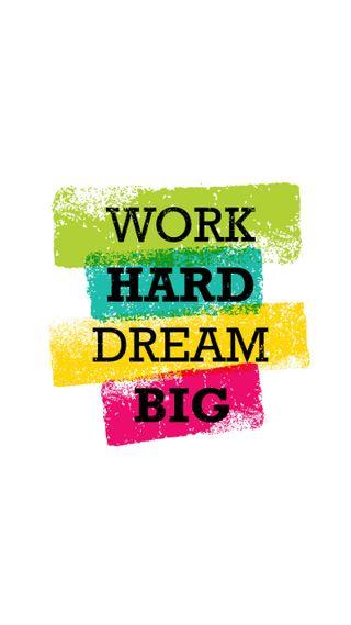 Обои на телефон успех, цитата, работа, мотивационные, мечта, жесткие, work hard, dream big