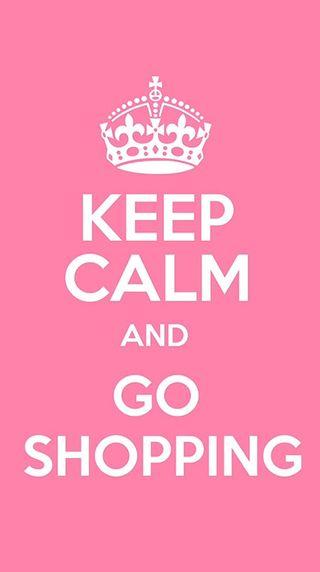 Обои на телефон спокойствие, shopping, keep calm