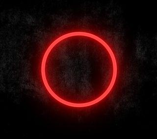 Обои на телефон светящиеся, круги, красые, red circle, glowing red circle