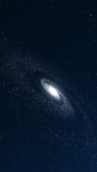 Обои на телефон черные, темные, космос, звезды, галактика, halo, galaxy