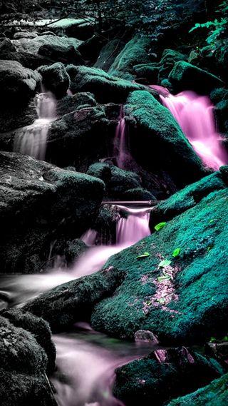 Обои на телефон водопад, величественные