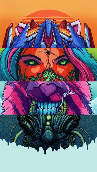 Обои на телефон рисунок, волк, арт, аниме, monstruo, monster, brock hofer art, brock hofer, art