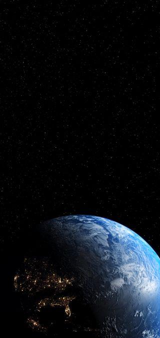 Обои на телефон космос, земля, звезды, галактика, s10 plus- earth, s10 plus, s10, hd, galaxy, 4k