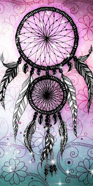 Обои на телефон мечта, розовые, перья, ловец, арт, art