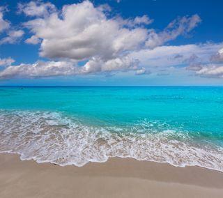 Обои на телефон тропические, лето, природа, пляж, море, волны, waters, summer beach