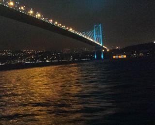 Обои на телефон стамбул, мост