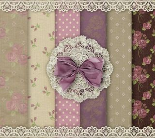 Обои на телефон vintage by marika, шаблон, розы, винтаж, пастельные, бумага, ткани, лук, кружево