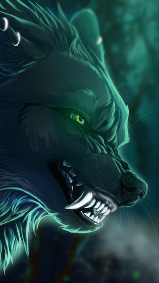 Обои на телефон собаки, волк