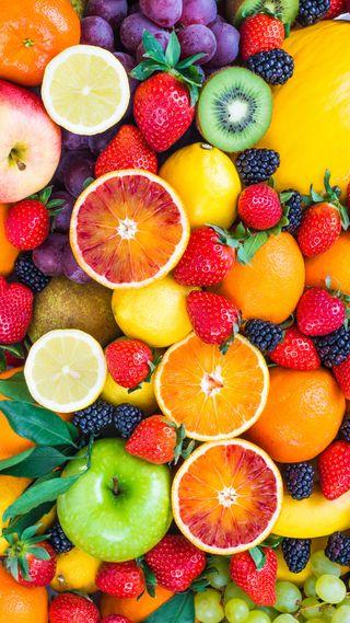 Обои на телефон фрукты, дизайн