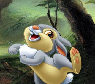 Обои на телефон кролики, мультфильмы, милые, кролик, thumper, bambi