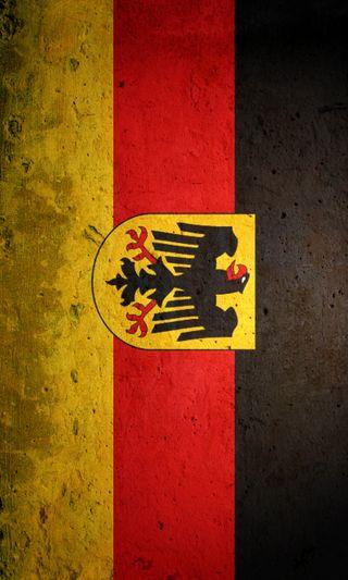 Обои на телефон немецкие, флаг, старые, германия