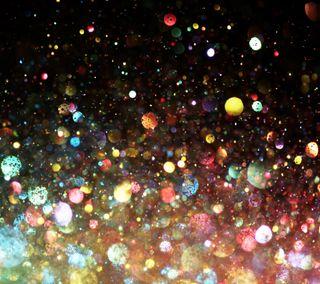 Обои на телефон сияние, цветные, круги, красочные, блестящие, абстрактные