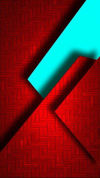 Обои на телефон треугольники, супер, синие, красые, дизайн, абстрактные, s7
