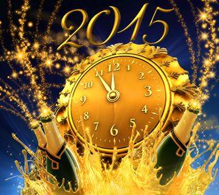 Обои на телефон шампанское, празднование, счастливые, сверкающие, новый, золотые, декор, год, happy