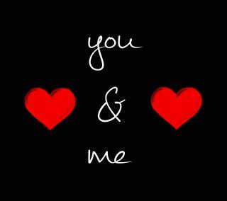 Обои на телефон я, ты, любовь, высказывания, love