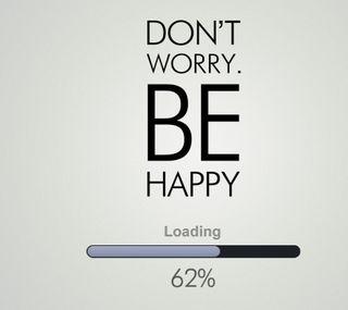 Обои на телефон будь, цитата, счастливые, поговорка, не, волноваться, dont worry be happy