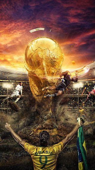 Обои на телефон чашка, футбольные, футбол, фифа, стадион, спорт, игроки, бразилия, cup