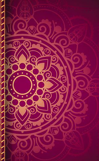 Обои на телефон мандала, фон, сердце, розовые, красочные, космос, дизайн, галактика, mandala background, galaxy