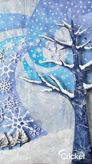 Обои на телефон дети, рождество, крикет, зима, деревья, арт, zedgecrickmas, winter trees, art