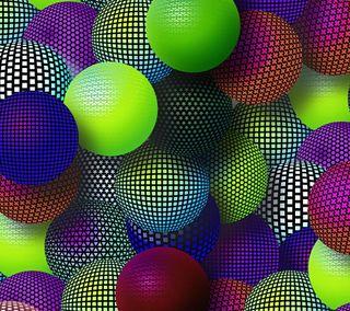 Обои на телефон узоры, шары, круглые, круги, красочные, дизайн, арт, абстрактные, mesh, art