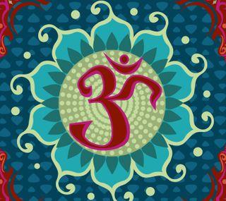 Обои на телефон ом, символ, священный, медитация, индийские, om symbol