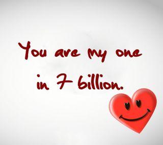 Обои на телефон всегда, цитата, семь, романтика, приятные, поговорка, пара, новый, мальчик, любовь, девушки, one in seven billion, love