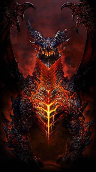 Обои на телефон красые, дракон, dragon