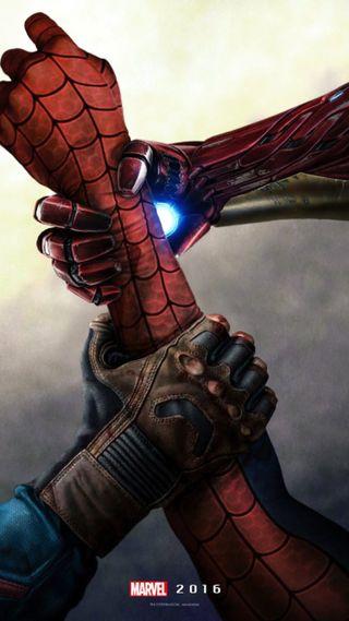 Обои на телефон человек паук, марвел, гражданская, война, америка, marvel civil war, marvel
