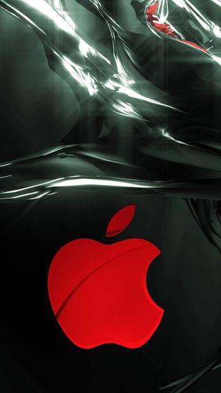 Обои на телефон пришелец, эпл, apple