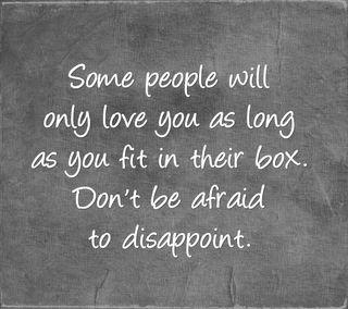 Обои на телефон коробка, цитата, поговорка, новый, люди, любовь, жизнь, love, disappoint, afraid