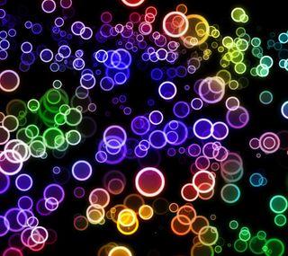 Обои на телефон цветные, круги, красочные, абстрактные