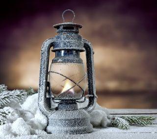 Обои на телефон фонарь, счастливое, снег, свет, рождество, зима