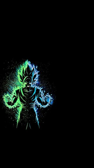 Обои на телефон мощный, изображения, логотипы, гоку, powerful goku, lightening goku, goku logos, goku images, goku full hd wallpapers, firing goku