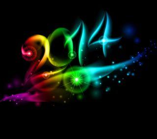 Обои на телефон цветные, год, новый, дизайн, абстрактные, new year 2014, bavkground colored