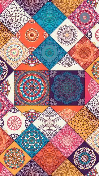 Обои на телефон украшения, мандала, шаблон, цветы, абстрактные, ornamental