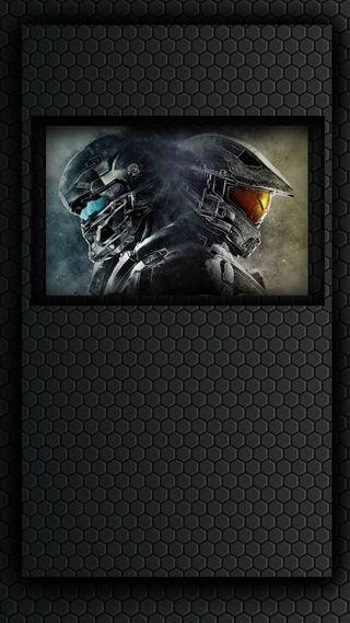 Обои на телефон игры, война, halo 5, halo
