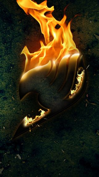 Обои на телефон tale, fairy tail logo, черные, аниме, логотипы, огонь, манга, пламя, сказочные, тьма, хвост