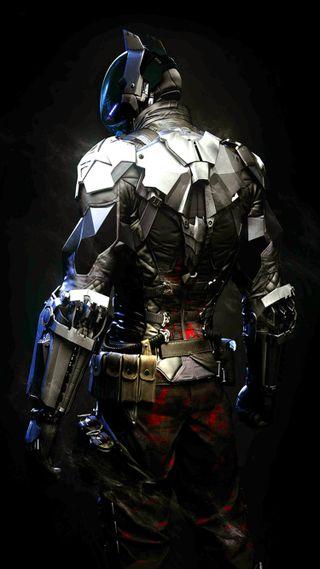 Обои на телефон рыцарь, бэтмен, аркхем, batman arkham knight, arkham knight