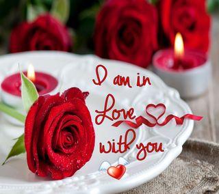 Обои на телефон свеча, сердце, свет, романтика, розы, любовь, красые, love, dinner