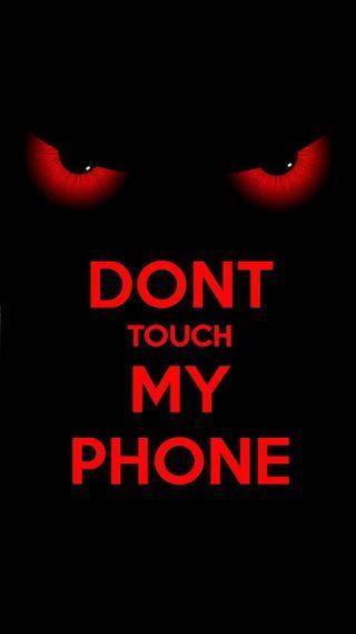 Обои на телефон трогать, телефон, не, мой, dont toch